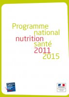 Affiche du Programme national nutrition santé - 2011-2015