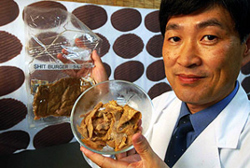 Le professeur Ikeda propose une viande plus diététique à base d'excréments humains