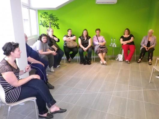 Aude a animé la 1ère réunion anciens, néo et futurs opérés de l'Ipco