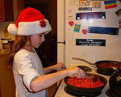 Les vacances donnent du temps pour faire à manger avec ses enfants